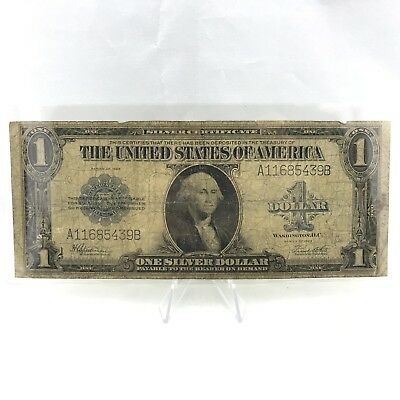 * Series 1923 $1 LARGE SIZE U.S. Silver Certificate - Horse Blanket Note Lot# 4