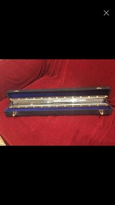 M Hohner 48 Chord Harmonica with case