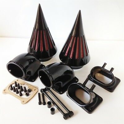 Motorcycle Spike Air Cleaner Kit intake For SUZUKI Boulevard M109 BLACK