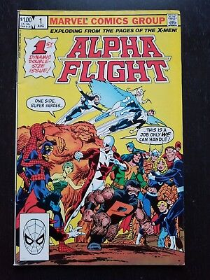 Alpha Flight #1 (Aug 1983, Marvel)