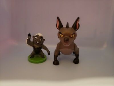 The Lion Guard Janja and Bunga Action Figures
