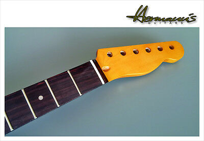 Telecaster Canadian Maple Neck, Rosewood Fretboard mit 22 Frets, Vintage Finish
