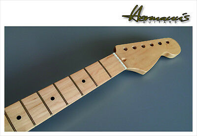 Stratocaster Canadian Maple Neck, Maple Fretboard, Finish High Gloss Nature