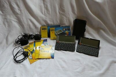 Psion Series 5mx 16MB PDA plus Psion Series 5 8MB with case and documents