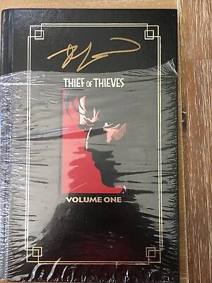 Thief of Thieves Vol 1 HC Hard Cover Signed by Robert Kirkman! NEW!