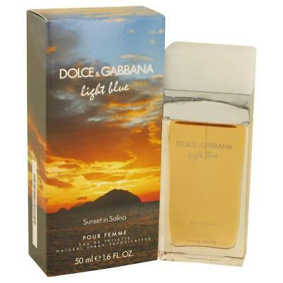Perfume Mujer Light Blue Sunset In Salina Dolce Gabbana Eau De Toilette 1 6oz