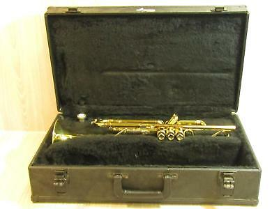 King 601 Trumpet Brass Musical Instrument With Case