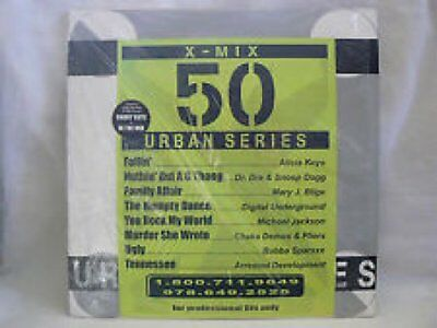 "Various - X-Mix Urban Series 50 Vinyl 2x12"" 0714944"