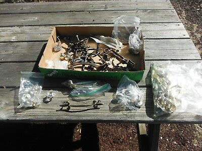 Box Lot Of Vintage Drawer/cabinet Pulls Handles