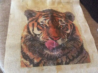 Tiger  Tapestry Canvas only