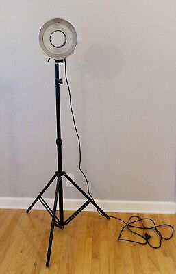 """Alien Bees ABR800 Ring Light kit, 30"""" Moon unit and Cowboy Studio Light Stand"""