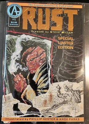 Rust #1 Limited Edition Foil 1st App Spawn NM