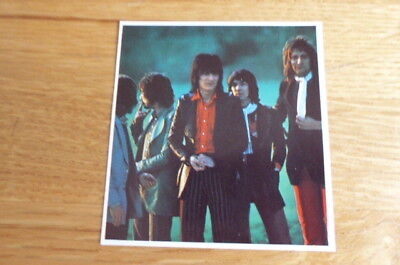 Rod Stewart And The Faces Daily Express Pop Stars Card 1972