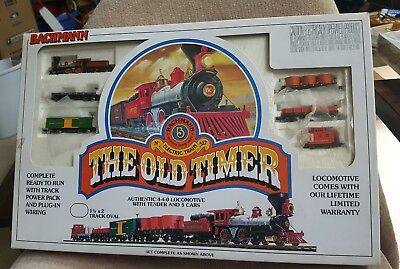 Vintage Bachmann N scale The Old Timer electric train set