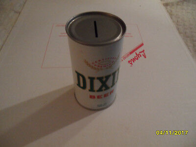 Dixie Beer Can Bank