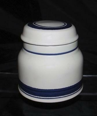Royal Doulton Biscay LS1007 Pattern Sugar Bowl with Lid in Ironstone Lambethware