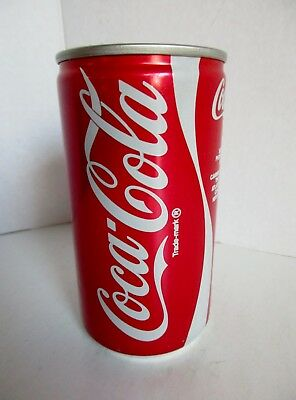 Vtg Coca Cola Coke Can Unopened Full 12 oz Sealed 1970/80s Stay On Tab