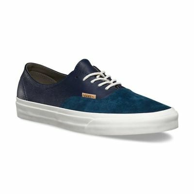Vans Off the Wall Authentic Decon Pig Suede Leather Midnight Blue Shoes  Mens 13 1c580a681