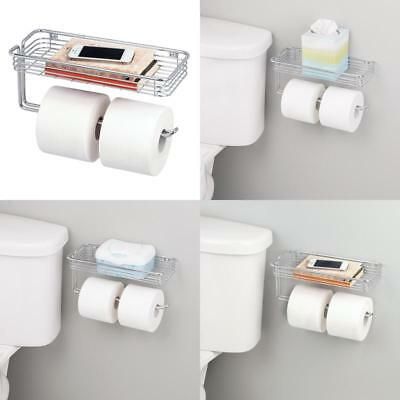 Toilet Paper Holder Storage Organizer Hanger Shelf Bathroom Vanity