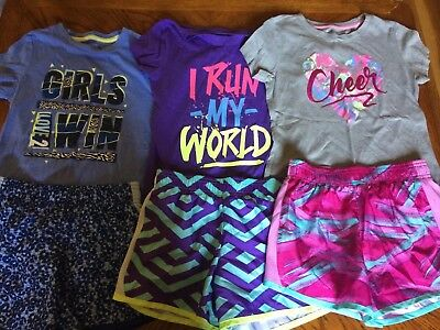 Girls Shorts Outfit Lot Size 7/8