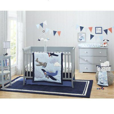 Take Flight 4 Piece Crib Bedding Set Collection By Carter S Brand New