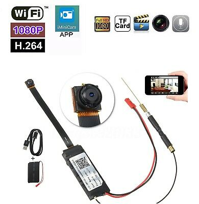 Minicamera Spia Wifi Camera Full Hd 1080P H.264 Spy Cam P2P Wireless Microcamera