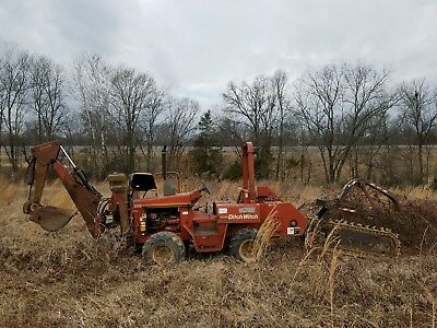 2001 Ditch Witch 5110 Trencher. Low hours. Buying pays shipping costs.