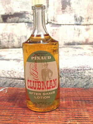 Vintage Pinaud Clubman Barber Shop Bottle Rare