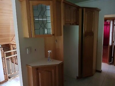 kitchen hardwood with appliances all working and good condition
