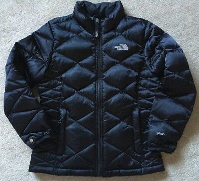 Girls Medium 10/12 The North Face Aconcagua 550 Down Fill Jacket Black