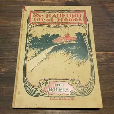 Antique 1903 Radford Architectural Ideal Homes Catalog 100 HOUSES Plans Rare