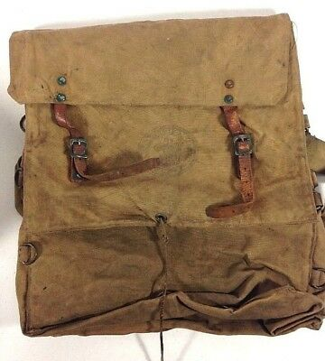 Vintage BOY SCOUTS OF AMERICA Canvas Yucca Backpack