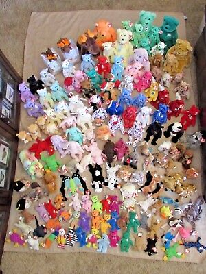 TY TEENIE BEANIE BABIES BUDDIES HUGE LOT of 150  Great Condition with TAGS!