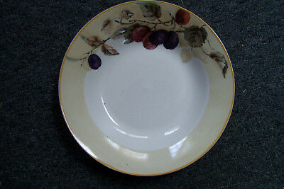 "Vintage Gibson Everyday Fruit Pattern 8"" Soup Cereal Bowl #"
