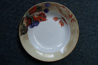 """Vintage Gibson Everyday Fruit Pattern 8"""" Soup Cereal Bowl #1"""