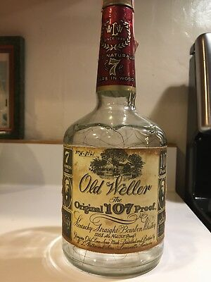 Old Weller Original 107 proof bottle #8161