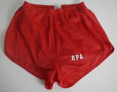 Vintage Champion Running Gym Shorts Red Tag Small 28-30 HPA