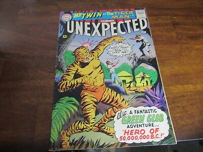 Tales Of The Unexpected Dc #90 1965 Tiger Cover