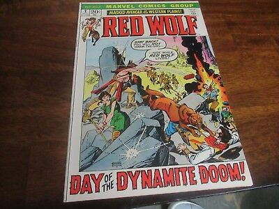 Red Wolf #2    (1972 Marvel) Western Gil Kane John Severin bronze-age