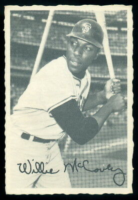 1969 TOPPS OPC O PEE CHEE DECKLE EDGE WILLIE MCCOVEY EX-NM San Francisco Giants