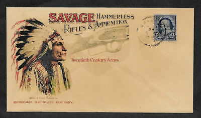 1900 Savage Rifles Firearms Ad Reprint Collector's Envelope OP1171