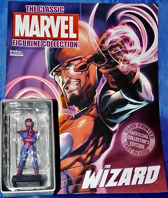 Eaglemoss WIZARD Classic Marvel Figurine Collection w/ mag - MINT