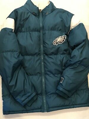 the latest ae486 234aa USED PRO LINE Philadelphia Eagles NFL puffer Jacket Size XL