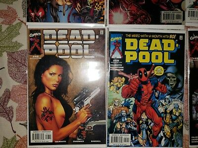 Deadpool Comic book Lot (6 issues) WeaponX #3-4, #46, 48, 50