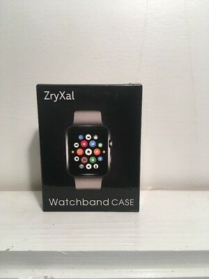 ZryXal 38mm Clear Faceplate Apple Watch