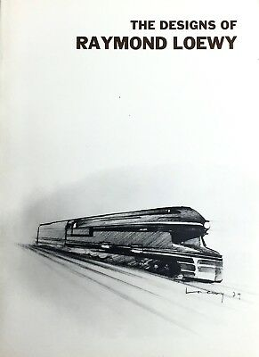 The Designs of Raymond Loewy - Smithsonian Press near perfect condition rare
