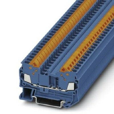 Phoenix Contact 3206429 QTC Clipline Series , 800 V Feed Through Terminal Block