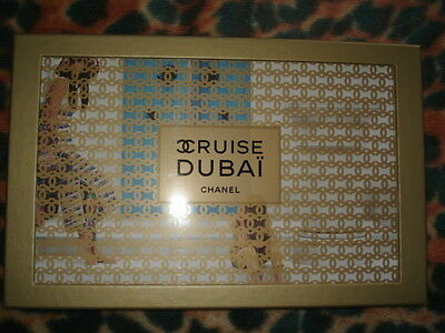 Chanel Cruise Dubai  Limited Collection  Cards Catalog Box