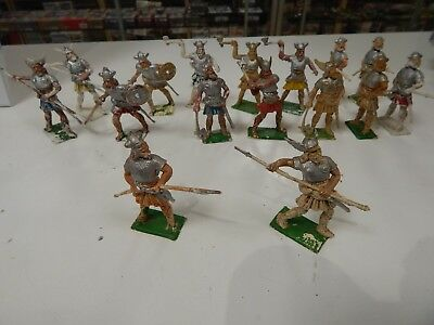 Toy soldiers plastic VIKINGS by Cherilea made in Britain