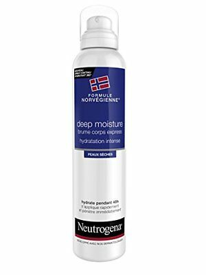 Neutrogena Deep Moisture Brume Corps Express Hydra Intense Spray 200 ml - Lot...